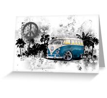 Splitty Grunge (B) Greeting Card