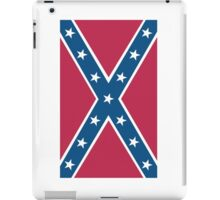 Confederate, Rebel, Dixie Flag, C.S.A, America, Pure & Simple, Portrait, upright iPad Case/Skin