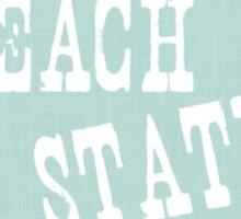 Georgia State Motto Slogan Sticker