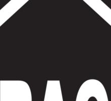 CRACK HOUSE Sticker