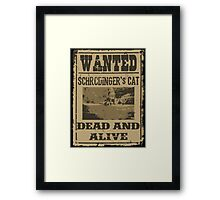 "Dead ""and"" Alive Framed Print"