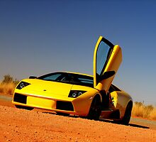 Lamborghini Murcielago by Ash Simmonds
