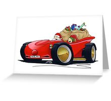 Sleigh XMS Greeting Card