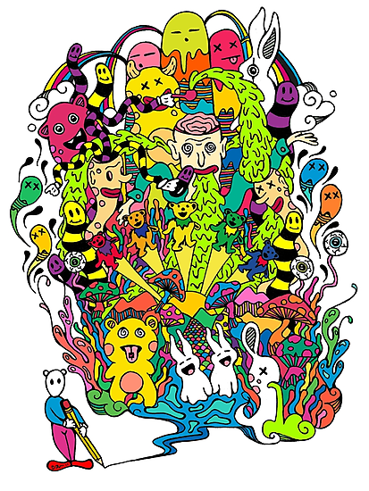 LSD Color by Octavio Velazquez