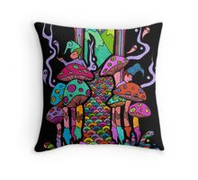 Welcome to Wonderland Throw Pillow