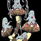 Four Little Monsters by Octavio Velazquez
