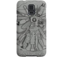 Vitruvian Machine (Gray) Samsung Galaxy Case/Skin