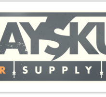 GREYSKULL Power Supply - A Subsidiary of Eternia Energy Sticker
