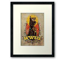 WWSD Framed Print