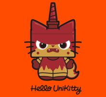 Hello (Angry) Unikitty Kids Clothes