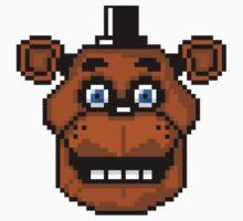 Freddy Fazbear 8-Bit by clearspace80