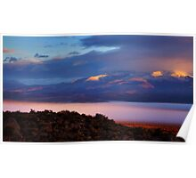 Palomino Valley Glow Fog Poster