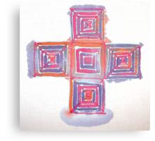 Silk blocks Canvas Print
