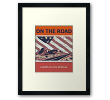Kerouac On The Road Framed Print