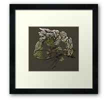 Dota 2 - Tiny w/ Tree [Vector] Framed Print