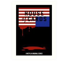 "House of Cards - ""Casualties"" Art Print"