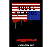 "House of Cards - ""Casualties"" Photographic Print"
