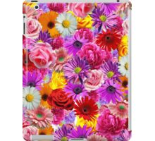 flower bed iPad Case/Skin