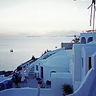 Oia Sunset, Santorini by Leigh Penfold