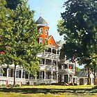 The Buena Vista Hotel by Thomas Akers