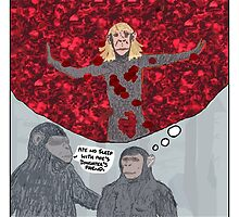 Dawn of the Planet of the Apes + American Beauty by altanimus