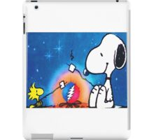 snoopy and woodstock iPad Case/Skin