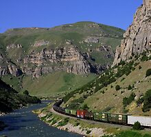 Wind River Valley Train by echoexpression