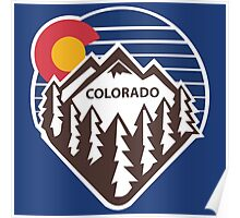 Colorado Throwback Poster