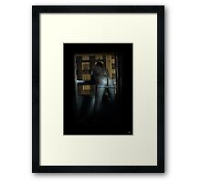 A London Bum Framed Print