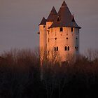 Castle at Sunset 2 by Walter Strength