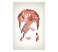 David Bowie: Aladdin Sane Photographic Print