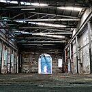Abandoned Factory on Cockatoo Island by Wolf Sverak