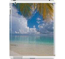 Postcard Perfection. Maldives iPad Case/Skin