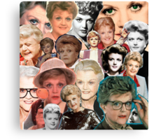 Dial M for Murder She Wrote Canvas Print