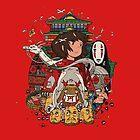 Ghibli's Spirited Away by gokufoxface