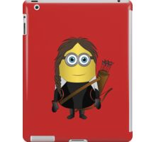 Katniss Hunger Games Minion iPad Case/Skin