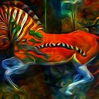 Childhood Memories III:  Ride the Escaping Quagga by Bunny Clarke