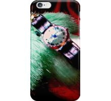 Time For Red And Green Stuff iPhone Case/Skin
