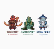 dota 2 pokemon  by designjob