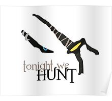 Tonight we HUNT - Rengar [white background] Poster