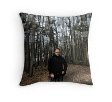 Belgium Forest Throw Pillow