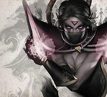Dota 2 Exclusive Art Print Templar Assassin  by designjob