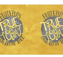 Hufflepuff House Motto by OliveandNeville