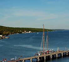 Secena Harbor, Seneca Lake, NY by Cheri Perry