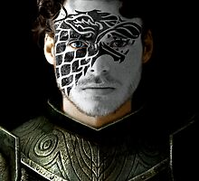 Robb Stark House War Paint by HilaryHeffron