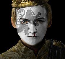 Joffrey Baratheon House Lannister War Paint by HilaryHeffron