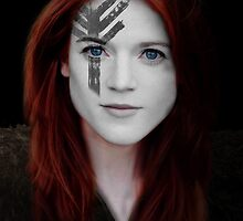 Ygritte Wildling Game of Thrones War Paint by HilaryHeffron