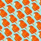 Creamsicle Pattern by Kelly  Gilleran