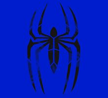 Spider-Man Segmented Logo (Blue Background) by JoshBeck