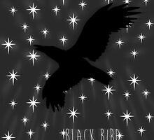 Black Bird Fly ~ Simplistic Design by Daniel Lucas